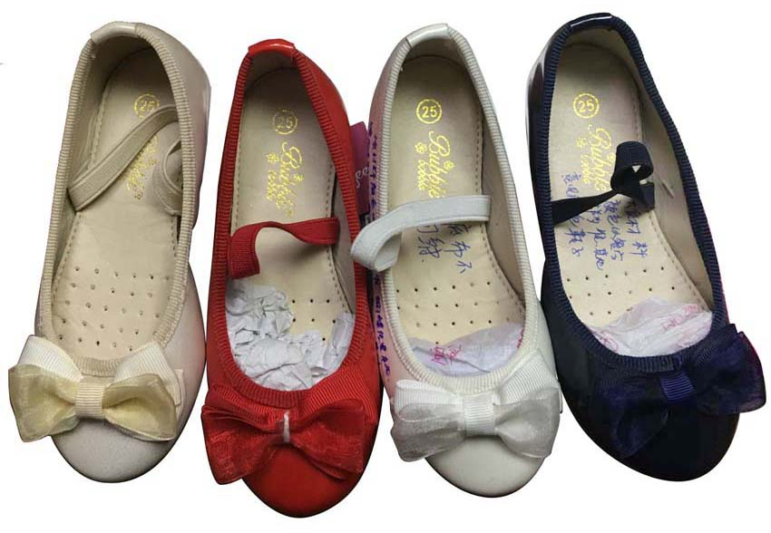 New style  Fashion Children Sweet Bowknot ballet Flats single...