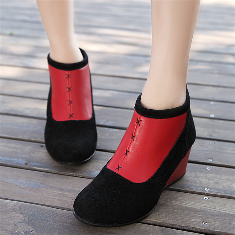 High quality of  women winter boots ankle boots (FTS1012-4)