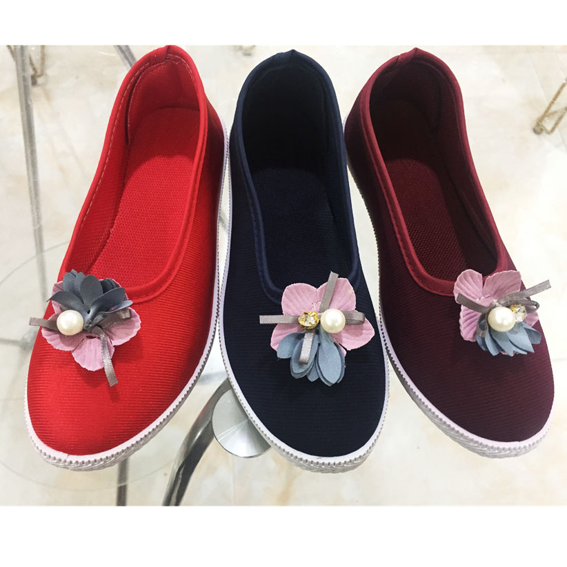 New design women casual shoes canvas shoes (SY19517-6) 1. ITEM...