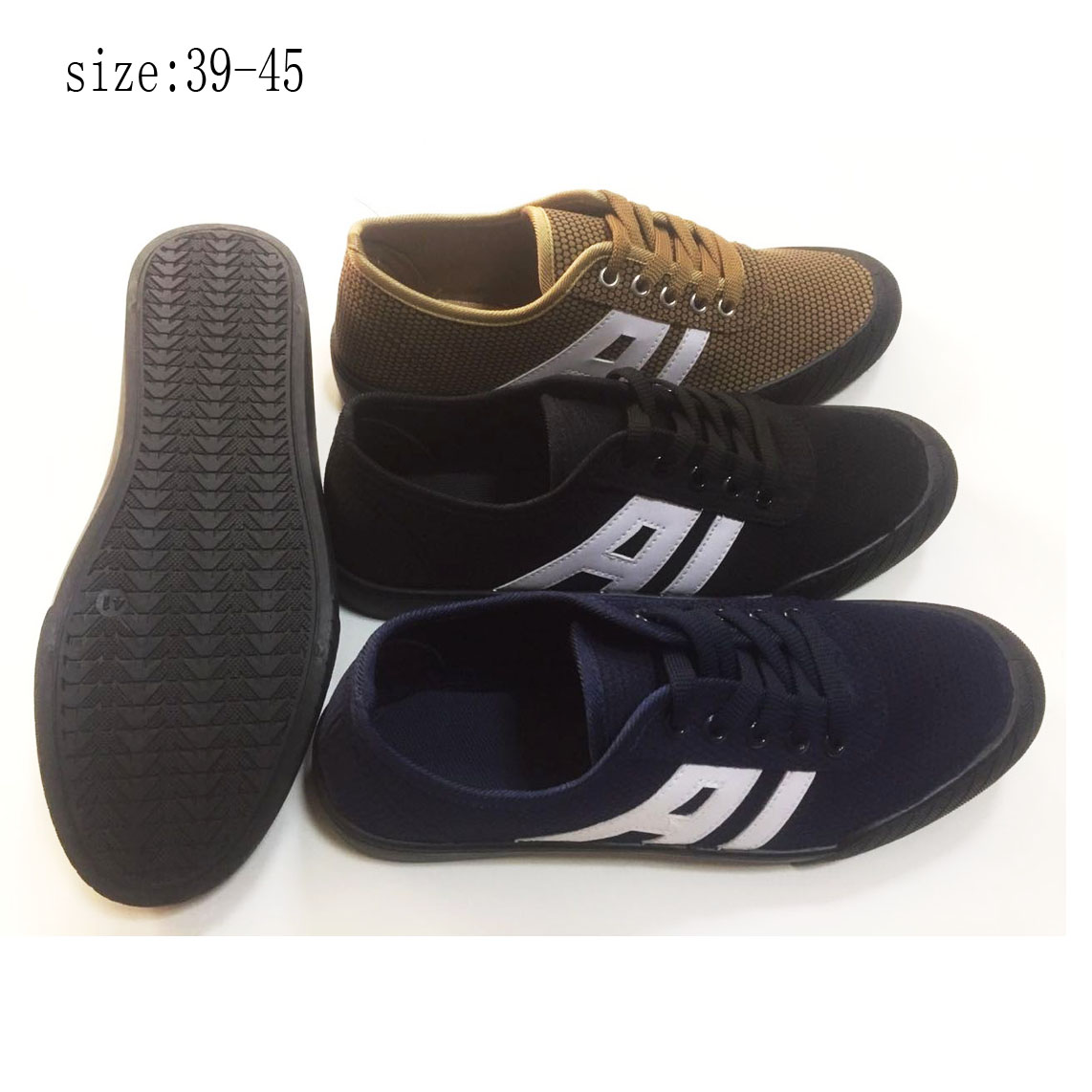 New design men casual shoes canvas shoes footwear (ZL19517-1...